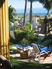 La Cruz de Huanacaxtle house photo - Wonderful view from deck of Sailboats and Bay of Banderas