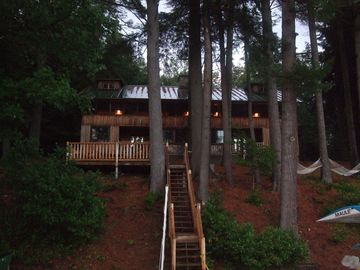 View of Lodge From Lake