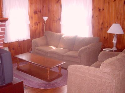 Ogunquit cottage rental - Family Room