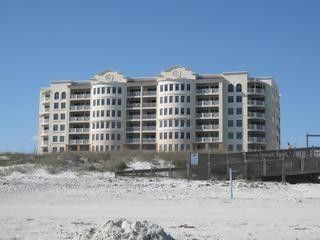 View from the beach -- Your condo is located on the 6th floor --