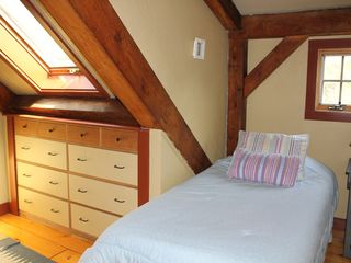 Gayhead - Aquinnah house photo - Loft Bedroom (overlooks Main Floor Bedroom with futon)