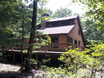 Tannersville house rental - Surrounded by woods - lots of privacy yet so close to everything!
