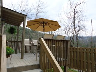Bryson City cabin photo - Another deck picture. More to come