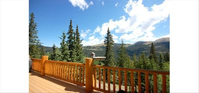 View From The Private Deck And Where You Can Watch All Our Small Critters!