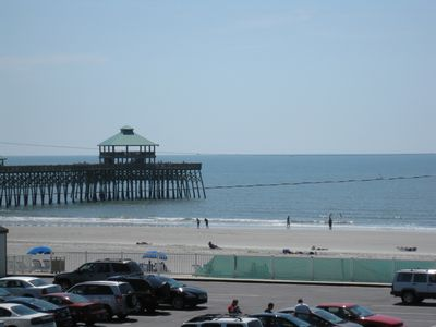 Folly Beach condo rental - View from the balcony