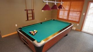 Lake Harmony Area house photo - Pool table in game room