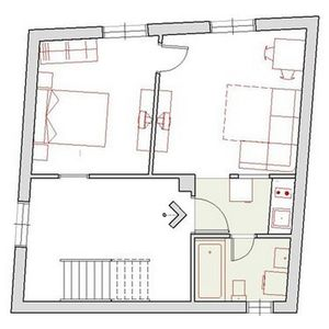 Apartment Ivo layout