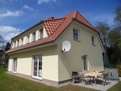 Comfortable holiday house, garden/terrace, only a few min. to the beach