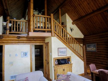 View of Guest house loft.