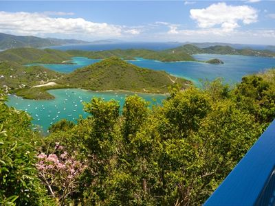 Unforgettable View from Mountain Haven Cottage, Coral Bay, St. John USVI