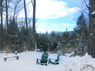 Lincoln cottage photo - Enjoy the View of Snow Topped Moutains