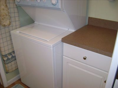 Washer Dryer in Half Bath