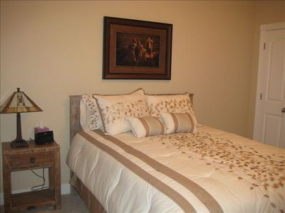 Somers house rental - Second bedroom, main level