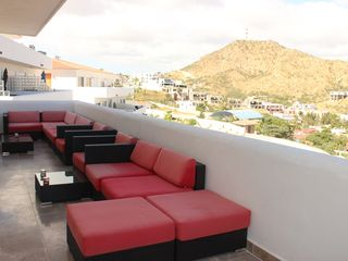 Cabo San Lucas condo photo - Our Large 300 Sq Ft Outdoor Patio With Large, Comfortable Furniture....