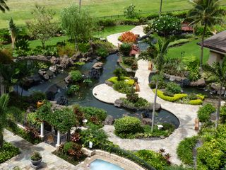 Ko Olina villa photo - Beautiful landscaping and Koi pond throughout the resort