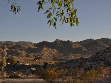 Joshua Tree house rental - Panoramic vistas