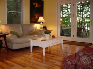 Casco house photo - Lakeside Living Area