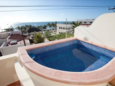 Dipping Pool on Bedroom Terrace of Casita Isladise