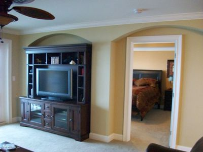 Jacksonville Beach condo rental - TV in family room