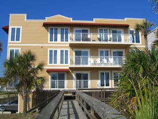 Amelia Island condo photo - The Terraces from the private beach walkover