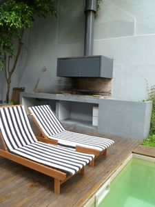 Modern Studio Palermo Soho - The BBQ Area