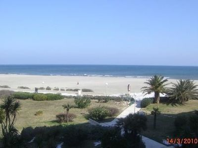 T2 rent fully furnished feet in the water, near Thalasso center and shops