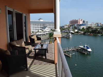 Clearwater Beach Waterfront  Condo Harborview Grande