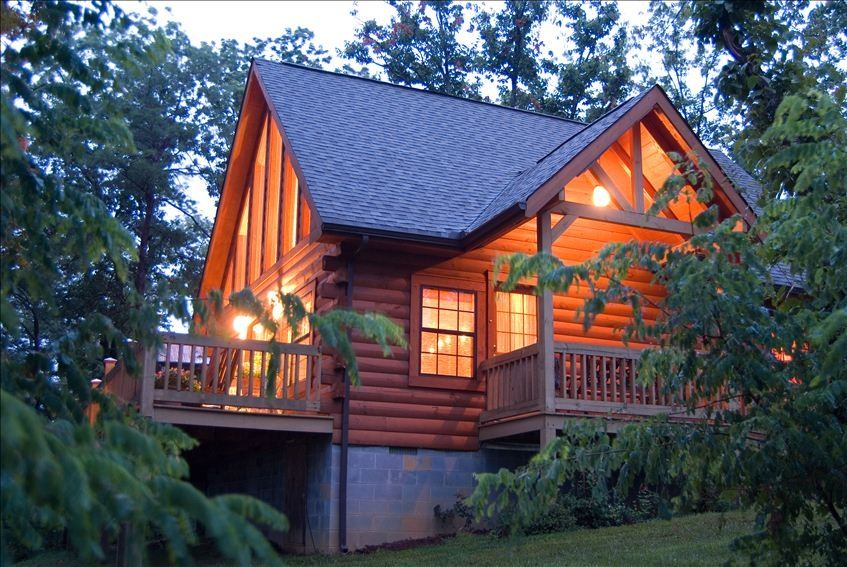 Lil 39 Bear Cabin Cozy Log Home With Vrbo