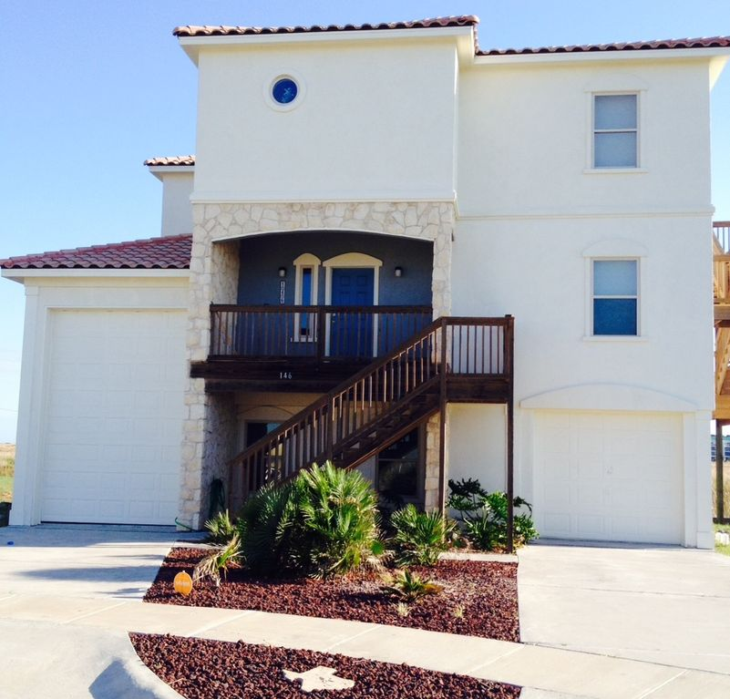 Beach House Rentals In Corpus Christi: Beach Villa With Spectacular, Unobstructed...