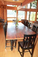 Pender Island house photo - Huge table can seat 10