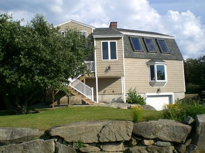 Biddeford house rental - Well-Kept Home & Grounds, Side Yard For Badminton