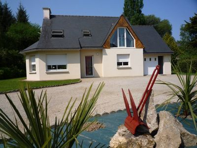 Holiday house, Locquirec, for 8 people, 100 m away from the beach,