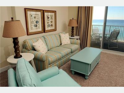 Ocean Reef condo rental - Living Area With Views!