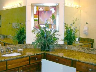 Silver Beach Towers Resort condo photo - Upstairs master bath