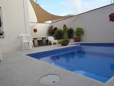 Cozumel house rental - Pool and Patio