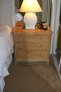 real wood nightstands