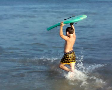 Bethany Beach house rental - Boogie boards are avilable for your ocean fun