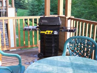Mont Tremblant condo photo - BBQ in our Balcony