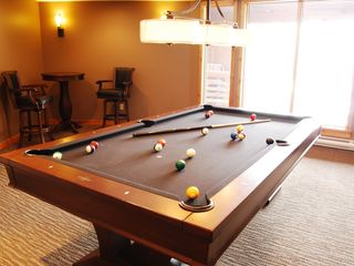 Canmore condo photo - Pool table in Games room