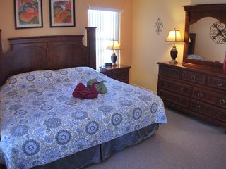 Kissimmee villa photo - King size bedroom 3