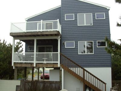 2nd & 3rd Floor Decks on Rear/Ocean side of the house.