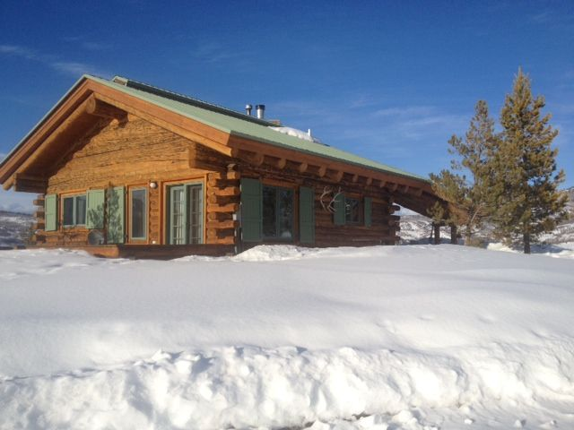 Mountain Top Log Cabin With Forever Views