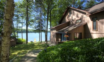 Traverse City house rental - You've arrived at Loon Lodge