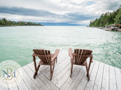 Incredible Lake front Cabin on Flathead Lake! Sleeps 6!