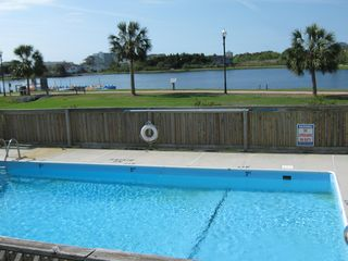 Carolina Beach condo photo - Pool from our deck