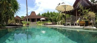 Jimbaran villa photo - Pool Dimensions 18 m x 5 m