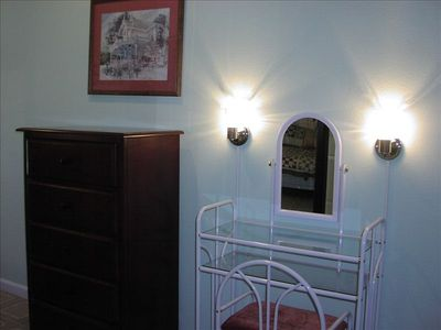 New Braunfels house rental - One of 5 vanities spread throughout the house.