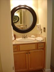 Seabrook Island condo photo - Additional sinks in both master bathrooms