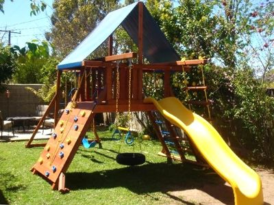 Private Play Area for the Kids