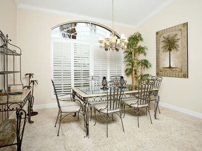 Florida Style Formal Dining Room